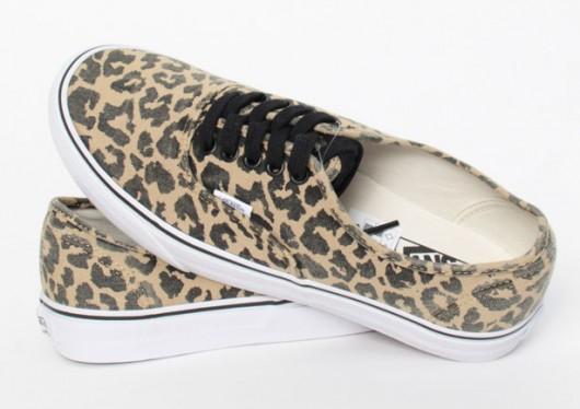 vans leopardate donna
