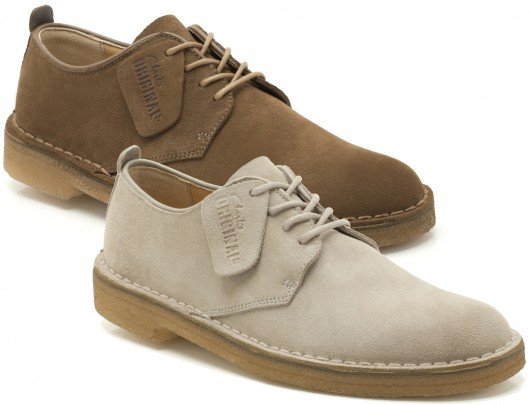 The Clarks London are a low version of the legendary Desert Boots. I bet  that many of you have never seen they before. They keep the lines of the  classical ...