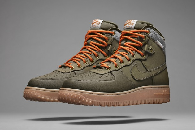 nike air force 1 mid verde militare