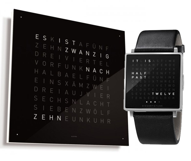 biegert und funk desire this biegert funk qlocktwo w watch biegert funk designstudio qlocktwo. Black Bedroom Furniture Sets. Home Design Ideas