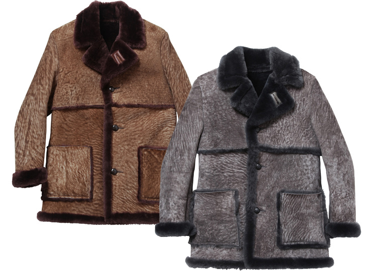 SUPREME X SCHOTT SHEEPSKIN COAT - Wait! FashionWait! Fashion