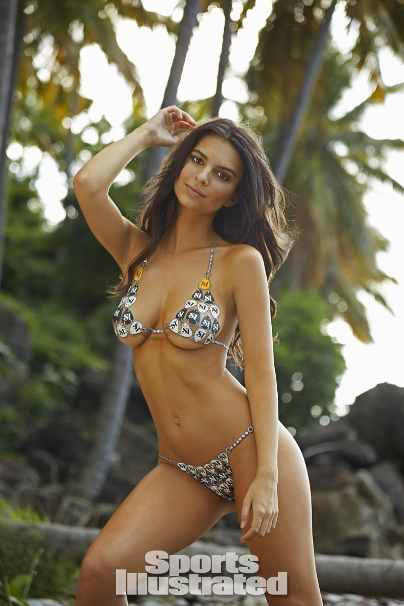Emily ratajkowski body paint su sports illustrated for Best body paint pics