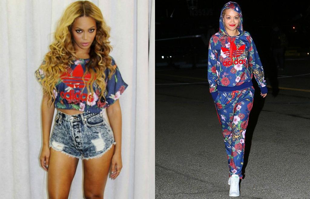 Wait Vip Beyonce 39 Indossa In Anteprima La Collezione Di Rita Ora Per Adidas Originalswait Vip