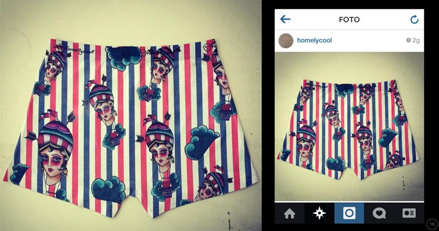 Instagram Del Giorno Homely Vi Fa Anche Le Mutande Non Solo Le Calze Instagram Of The Day