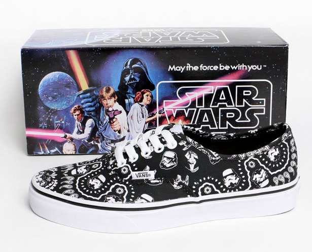 3d7d773198 VANS X STAR WARS. AUTHENTIC EDIZIONE LIMITATA STORMTROOPERVANS X ...