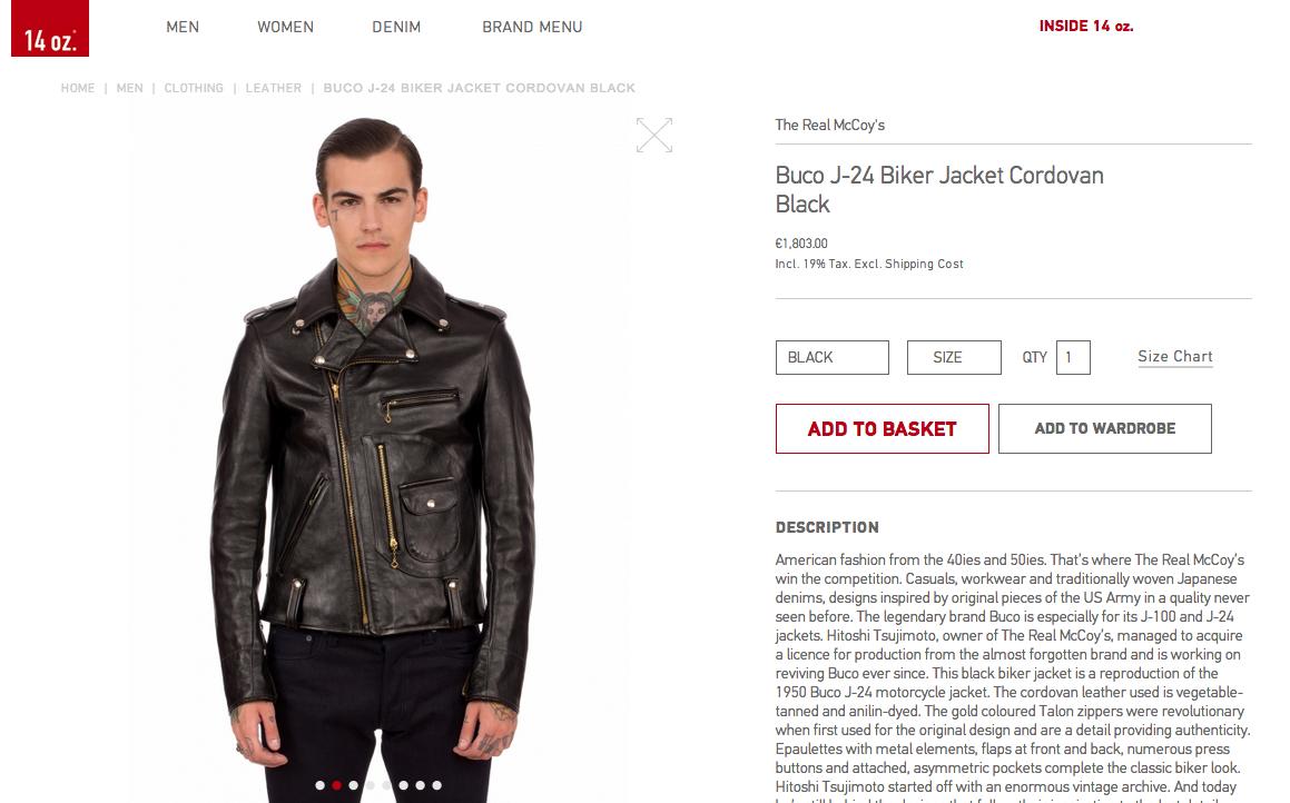 14 oz berlin lancia il suo shop online14 oz berlin launches online shop wait fashion. Black Bedroom Furniture Sets. Home Design Ideas