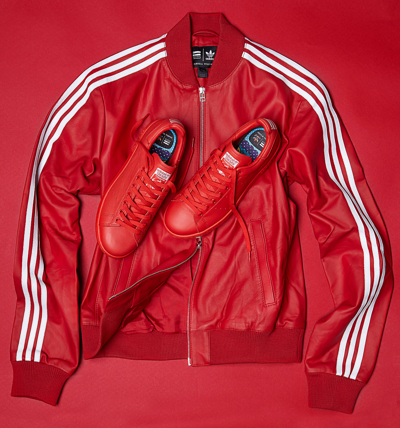 adidas rosse pharrel