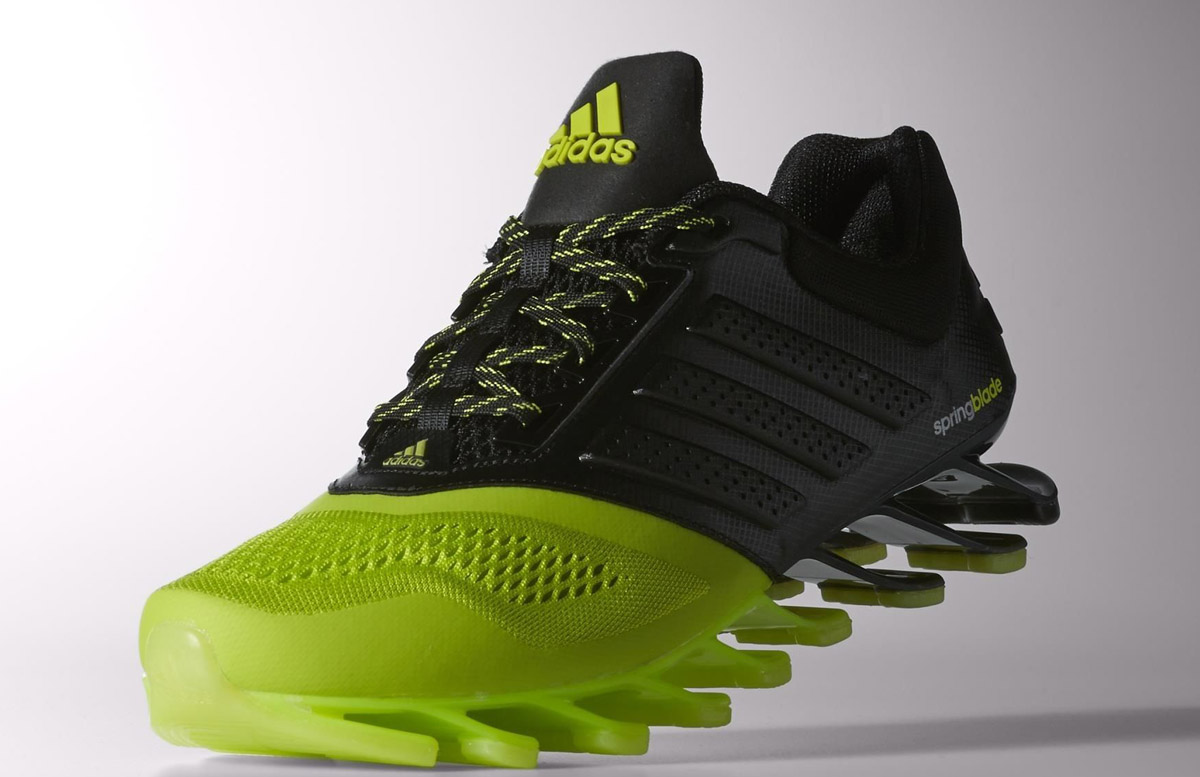new products b9016 d27ec ... adidas spingblade drive 2.0 running sneakers with blades on the sole  are back Adidas Springblade ...