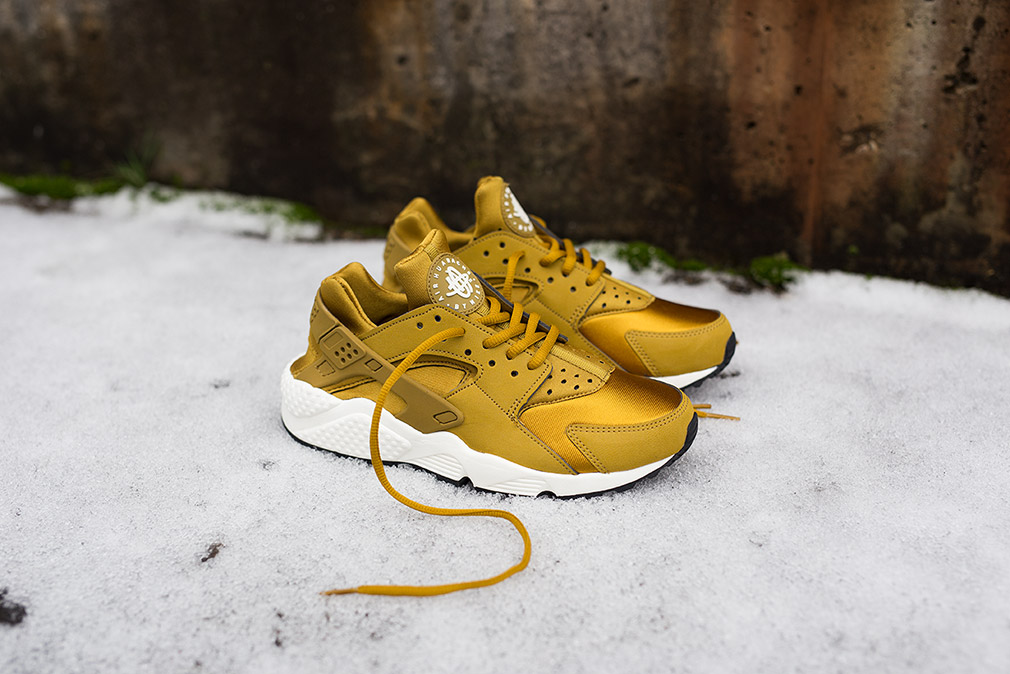 Nike Huarache Nere E Verdi