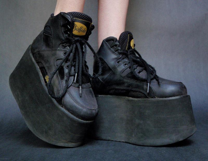 scarpe vans con la zeppa