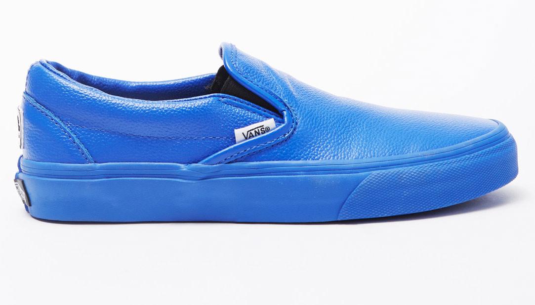 all blue vans