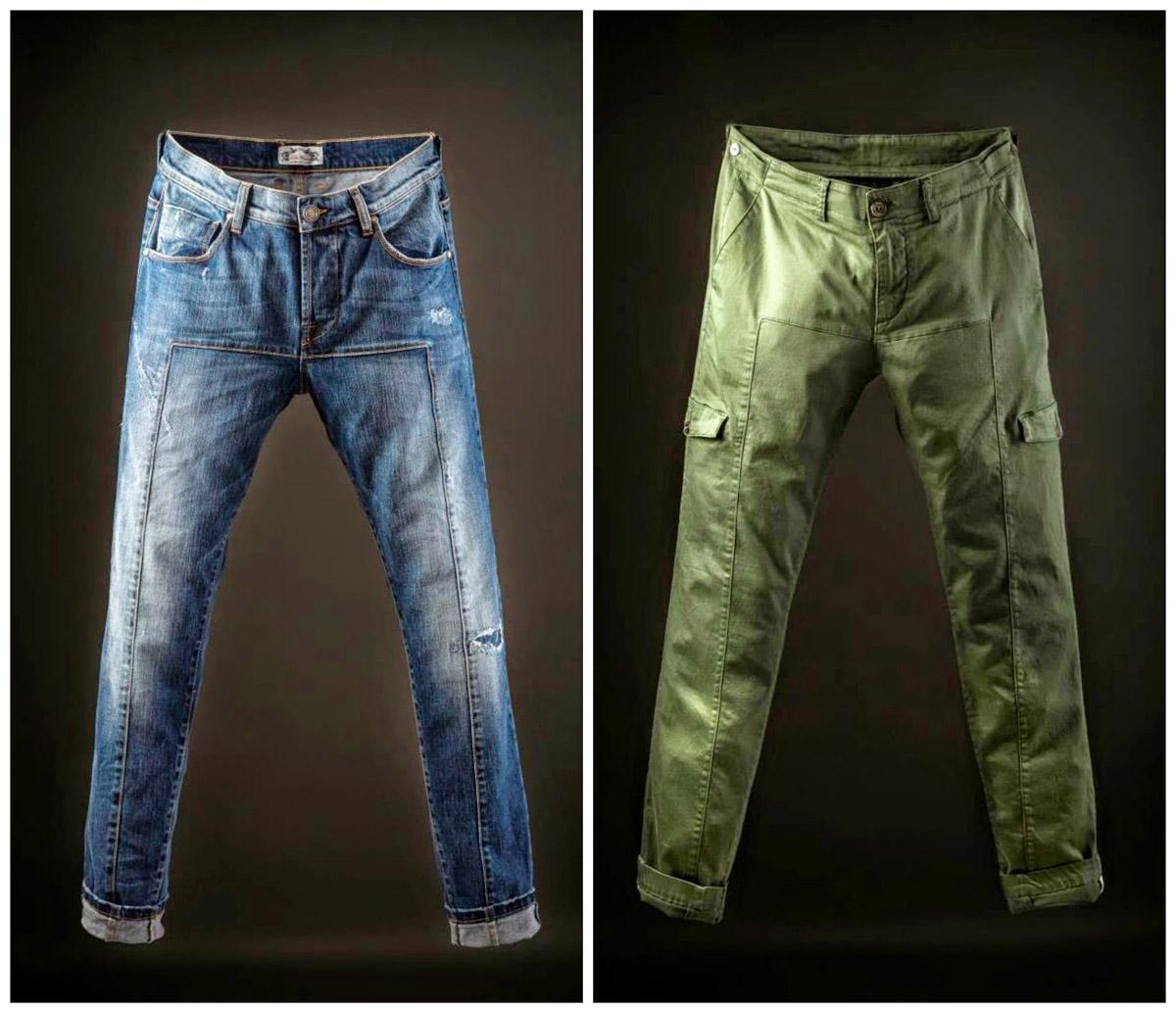 DENIM - Denim trousers De Wallen q7Z5YU