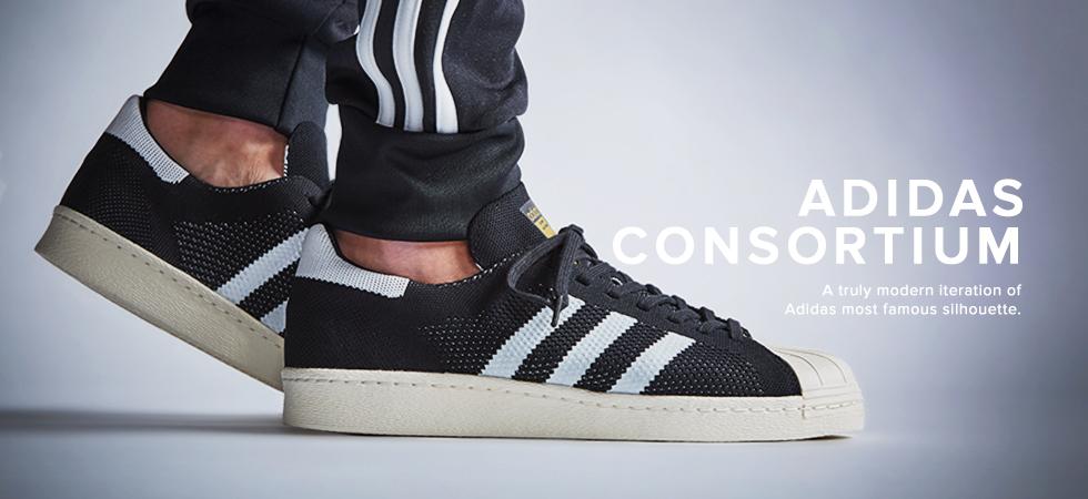 adidas consortium superstar primeknit