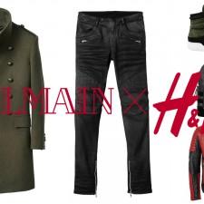 BALMAIN X H&M, TUTTA LA COLLEZIONE IN ARRIVO IL 5 NOVEMBRE