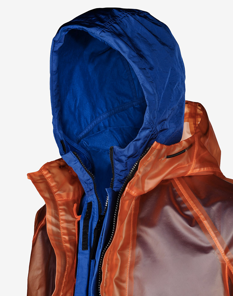 Stone Island Poly Cover Composite Jacket