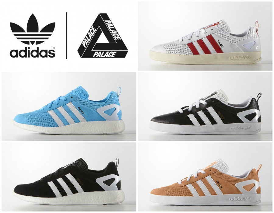 Palace x adidas Sneaker Collection | Complex