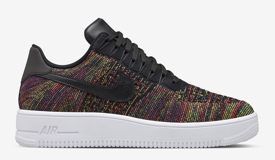 Nike Air Force 1 Flyknit viola