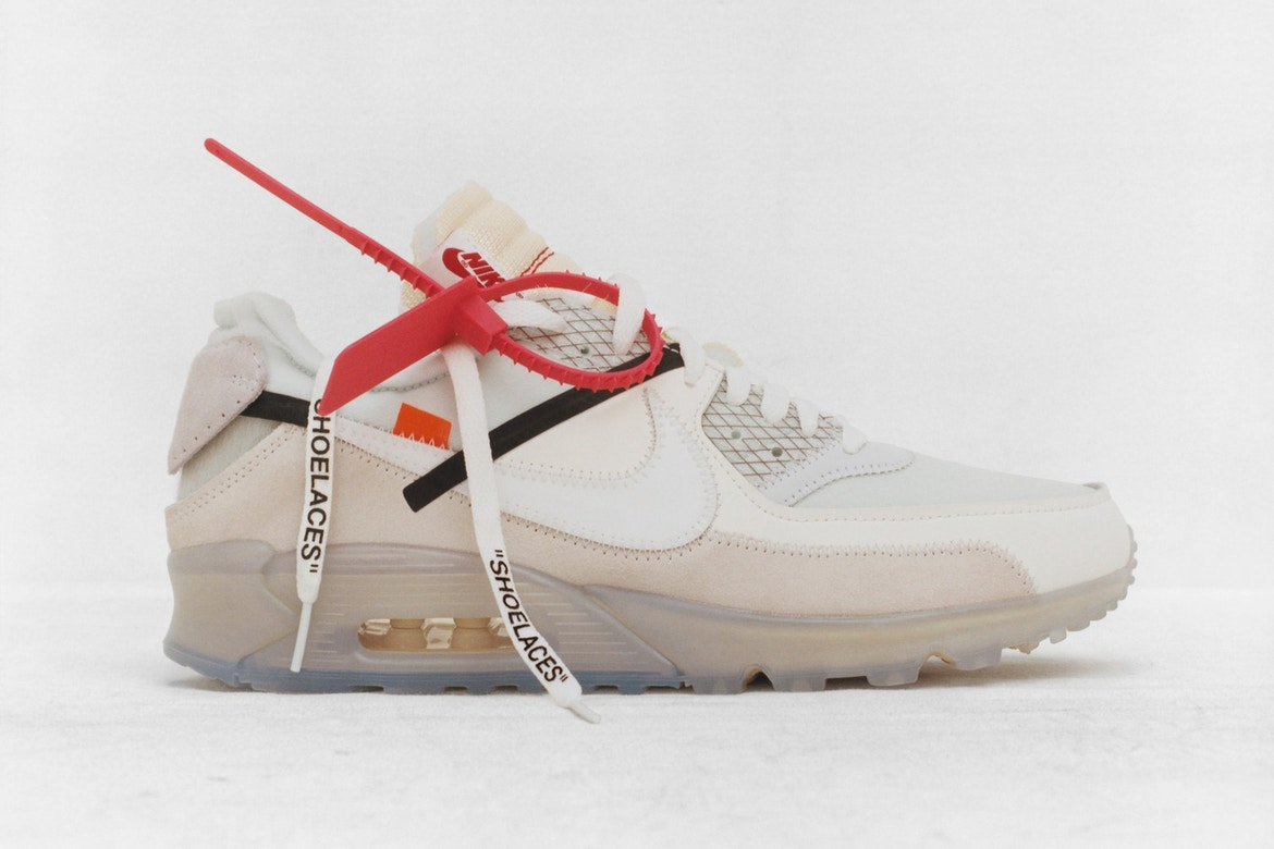 air max 90 x off white uomo