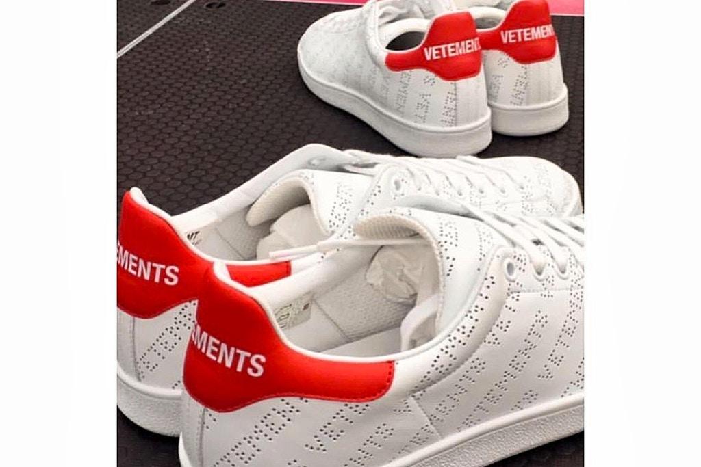 vetements scarpe rivisitano le classiche stan smith di adidas