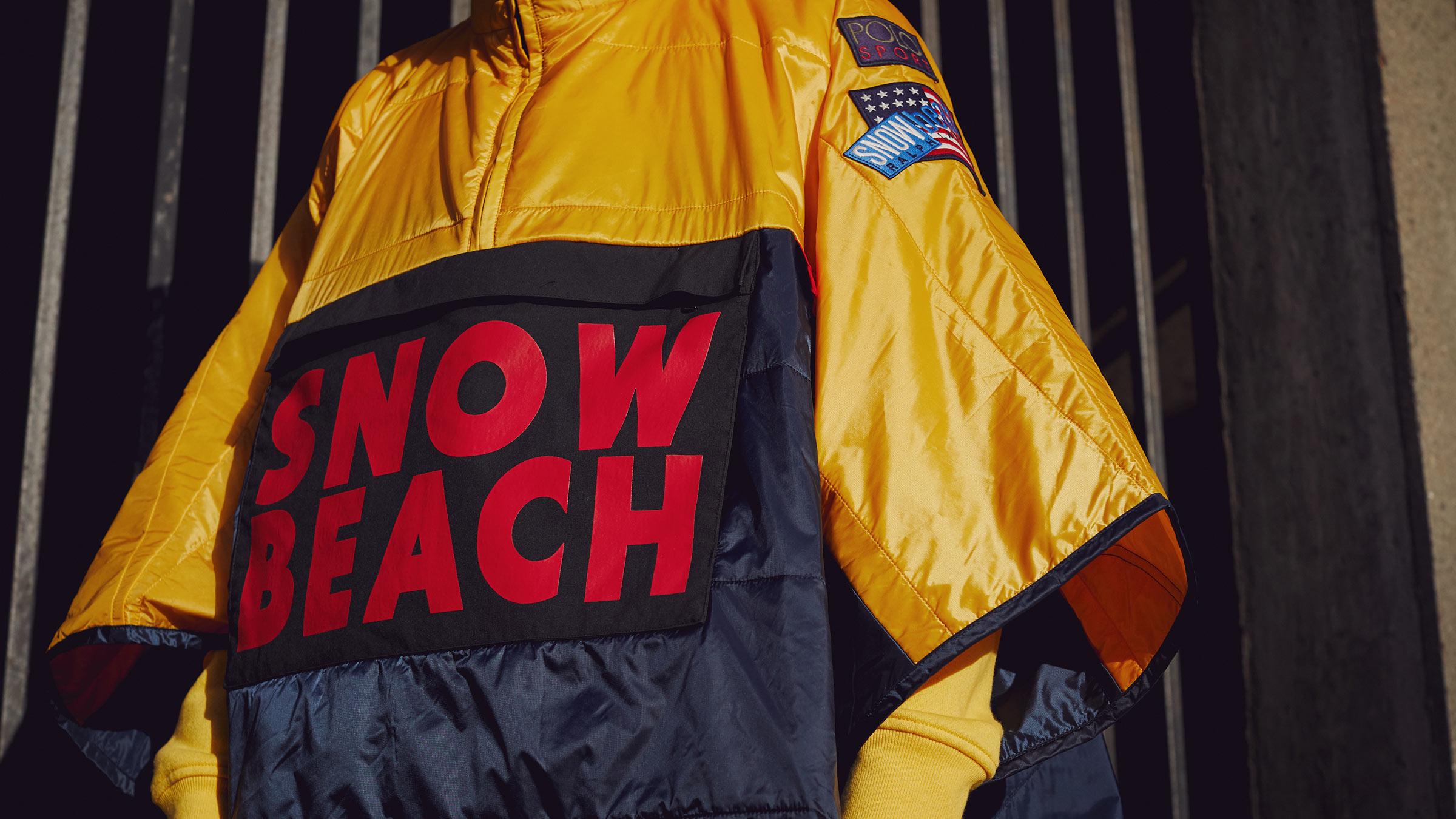 Polo Ralph Lauren Snow Beach Collection E Il Trionfo