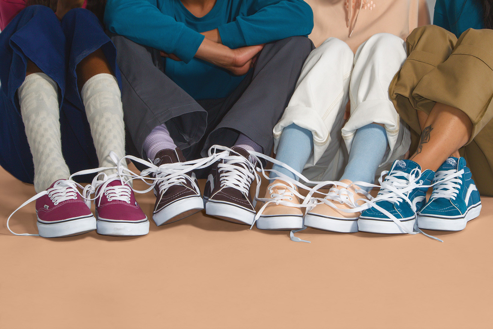 Vans Releases The New Color Therapy Collection