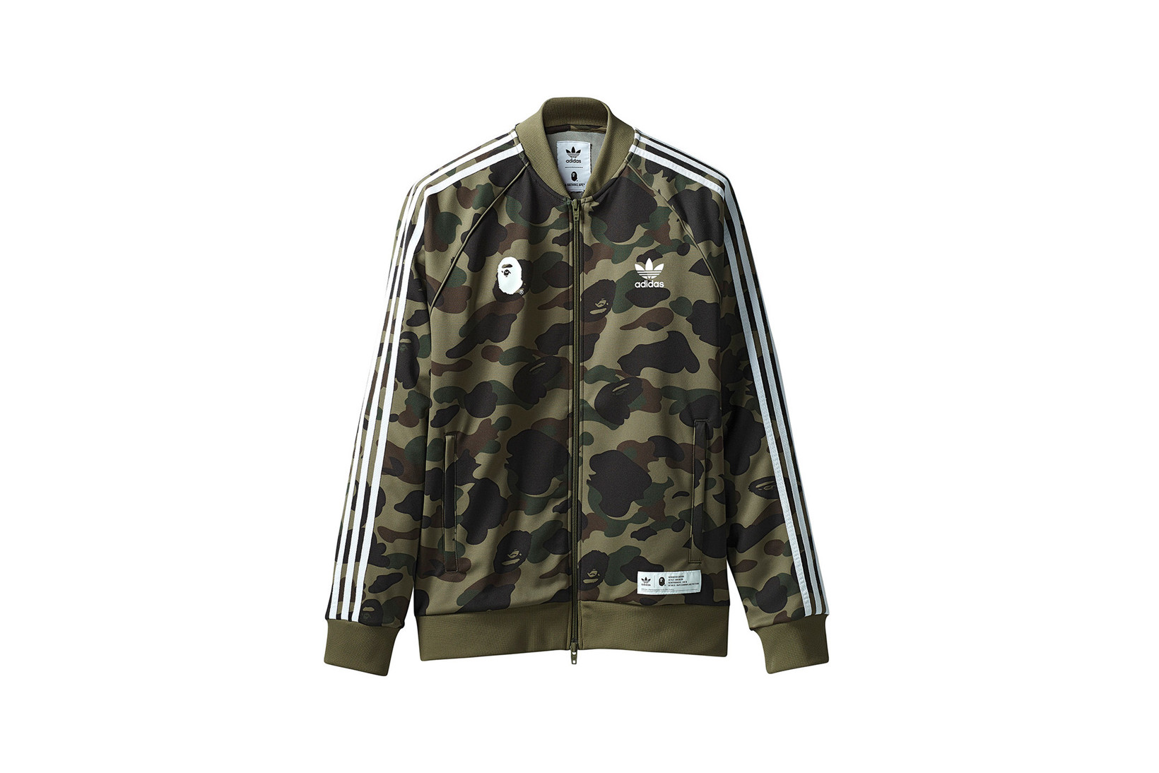 deacd40ef5ce Adidas Originals and BAPE present in collaboration the Adicolor collection