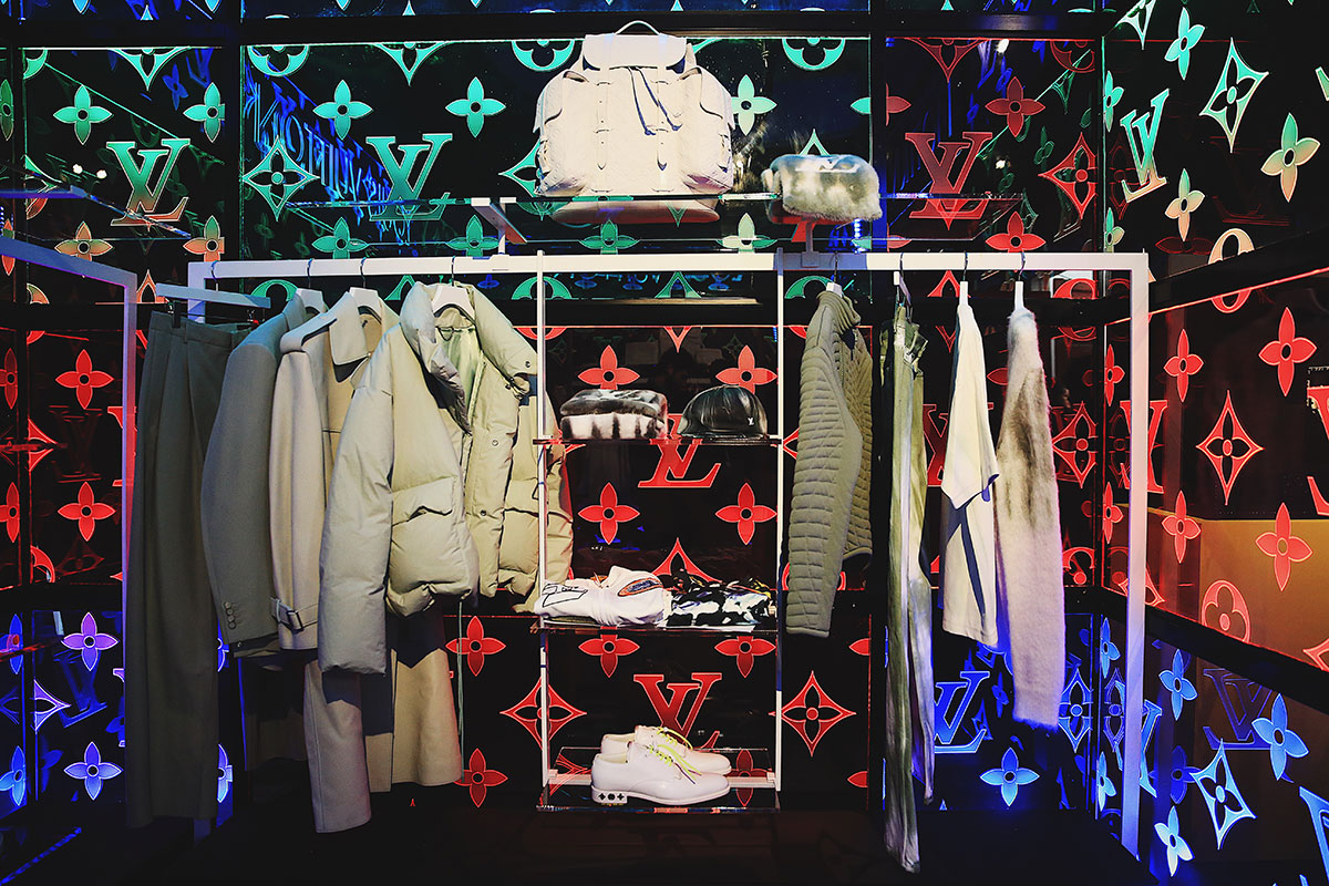 349dfed3662c Louis Vuitton apre un pop-up store per la collezione firmata Virgil ...