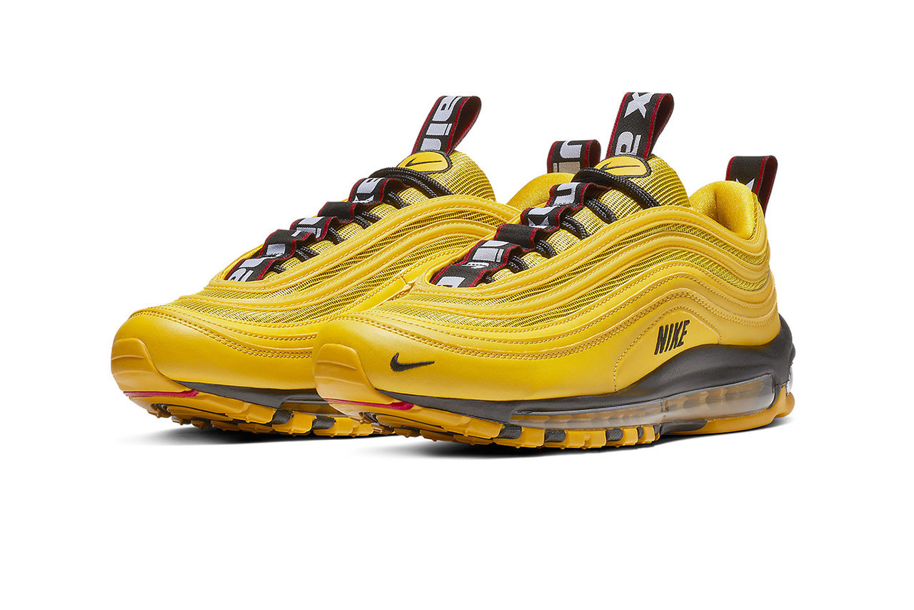 nike air max 97 gialle nere