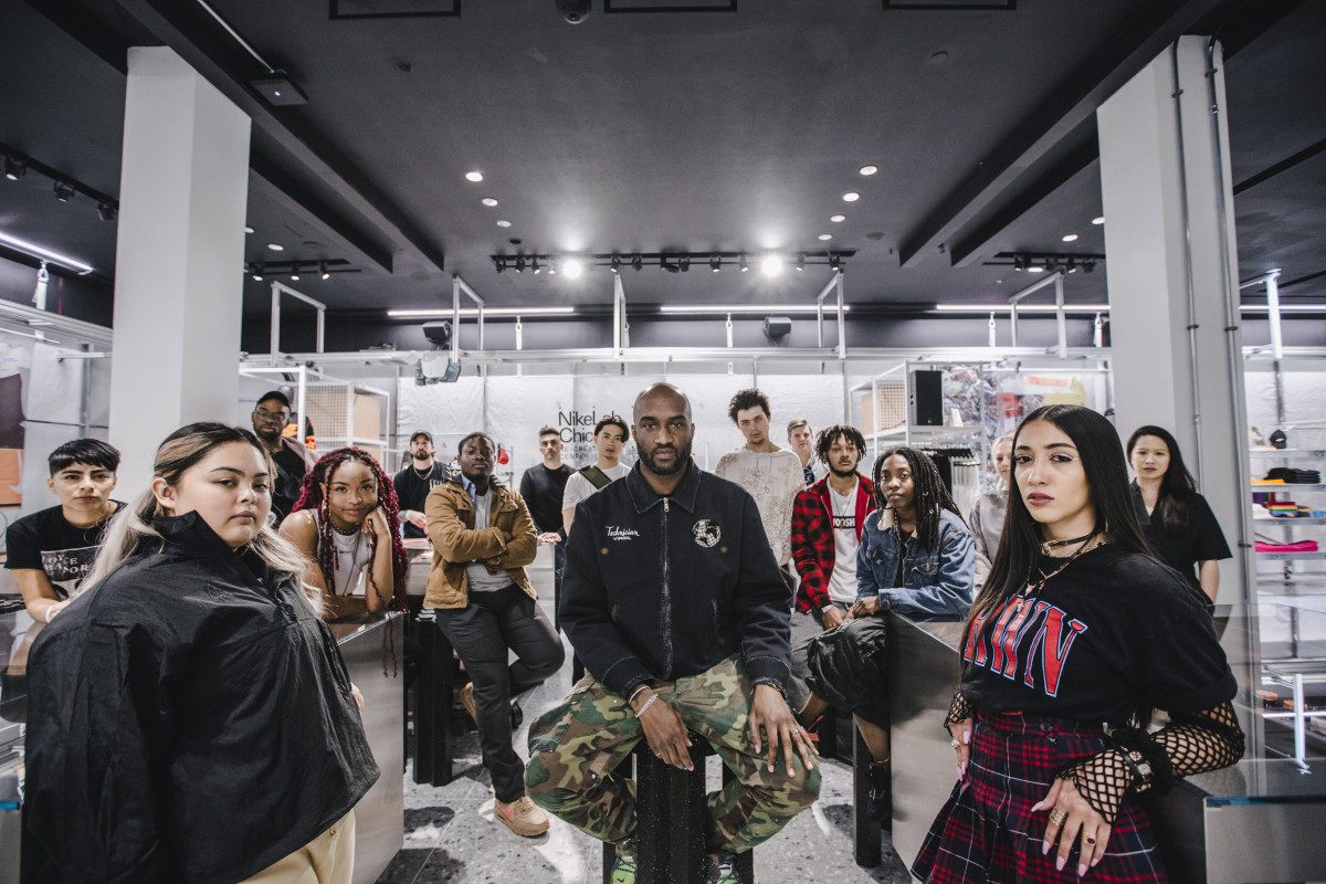 nike lab virgil abloh re-creation center