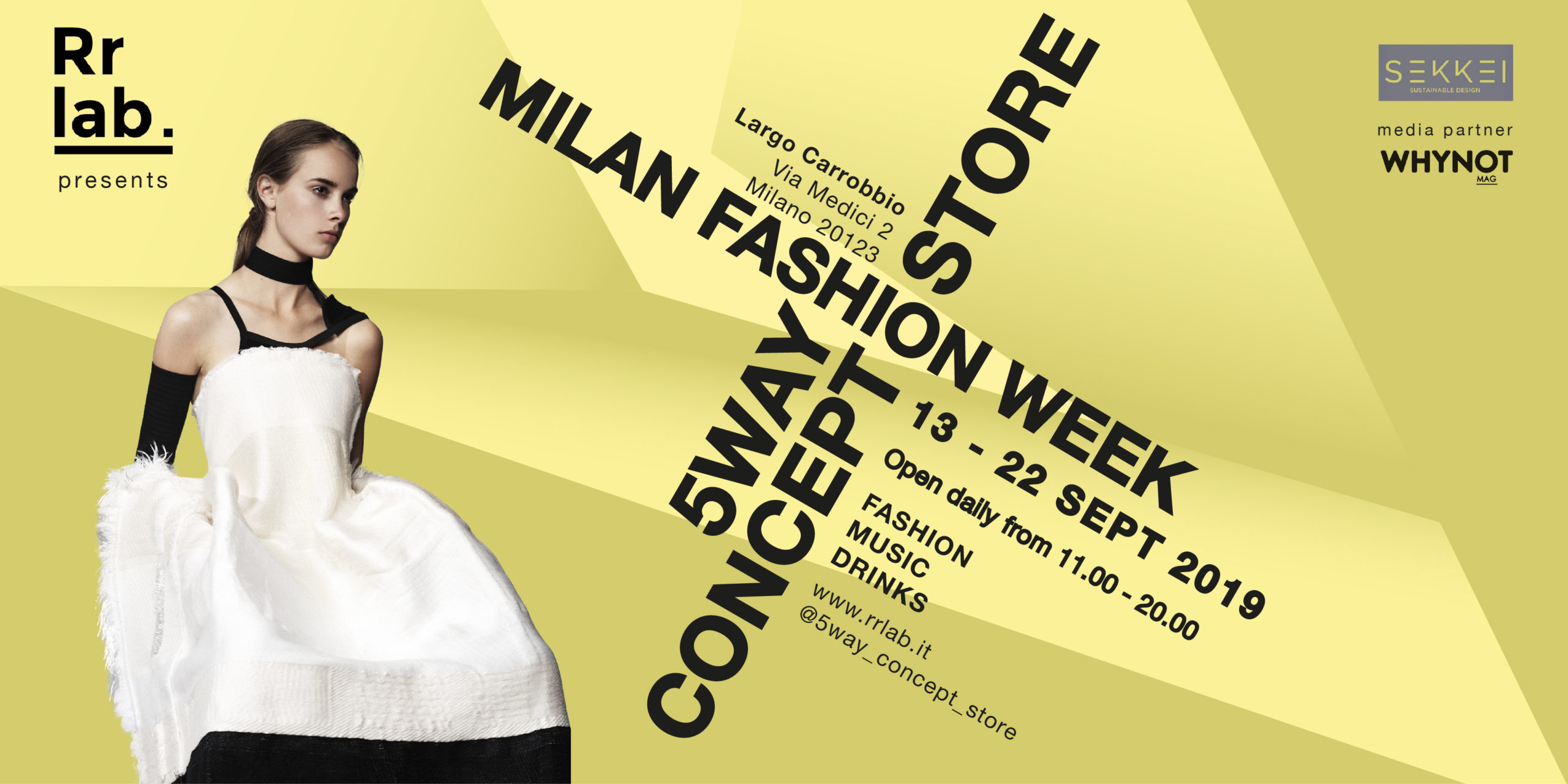 5way concept store milano fashion week