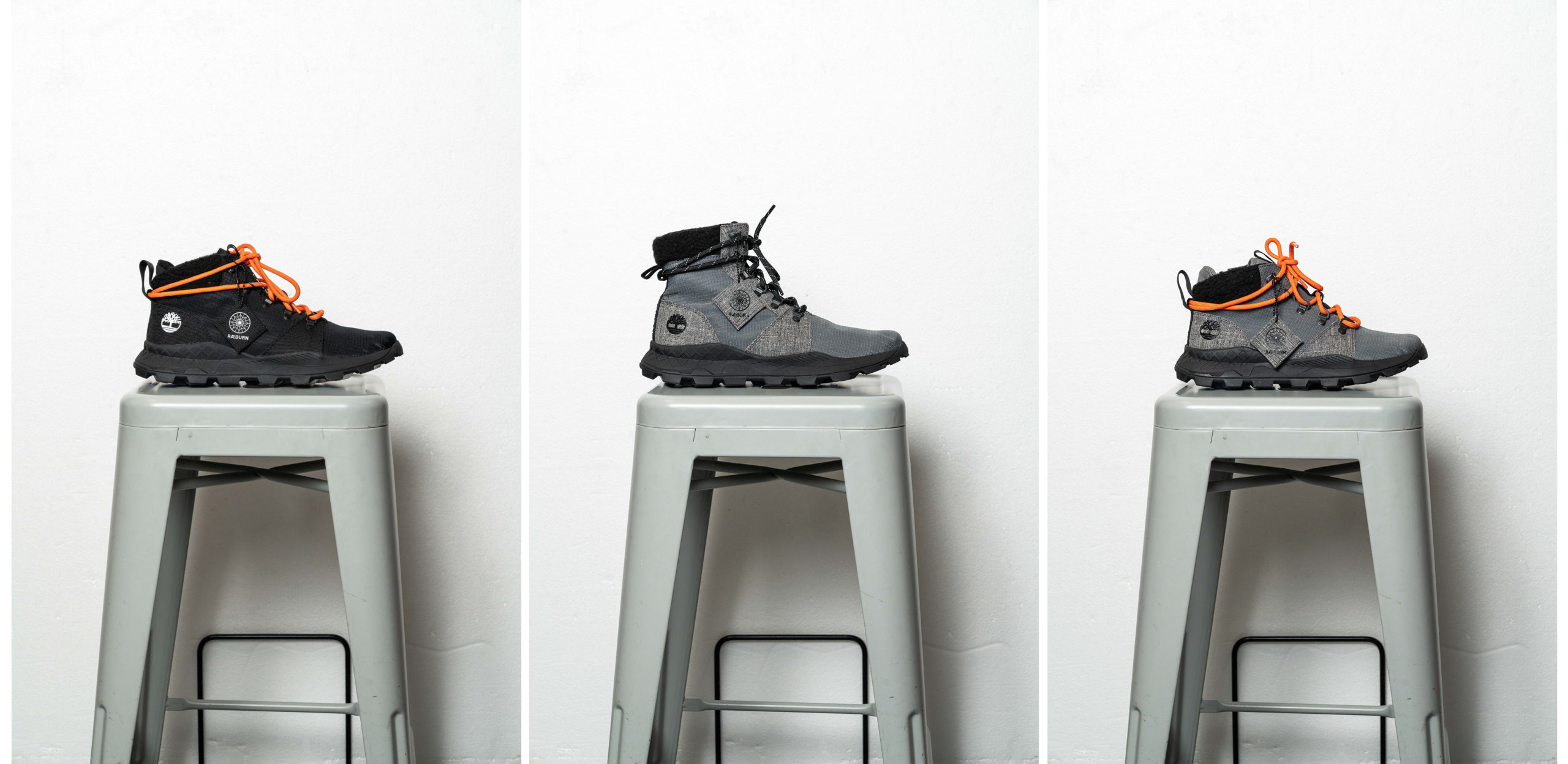 Timberland x Raeburn collaboration sustainability