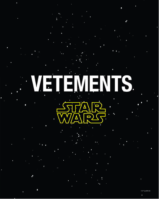 Vetements x Star Wars