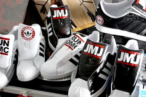tinción Mínimo Gángster  Run-DMC x adidas 50th anniversary, in arrivo in primavera
