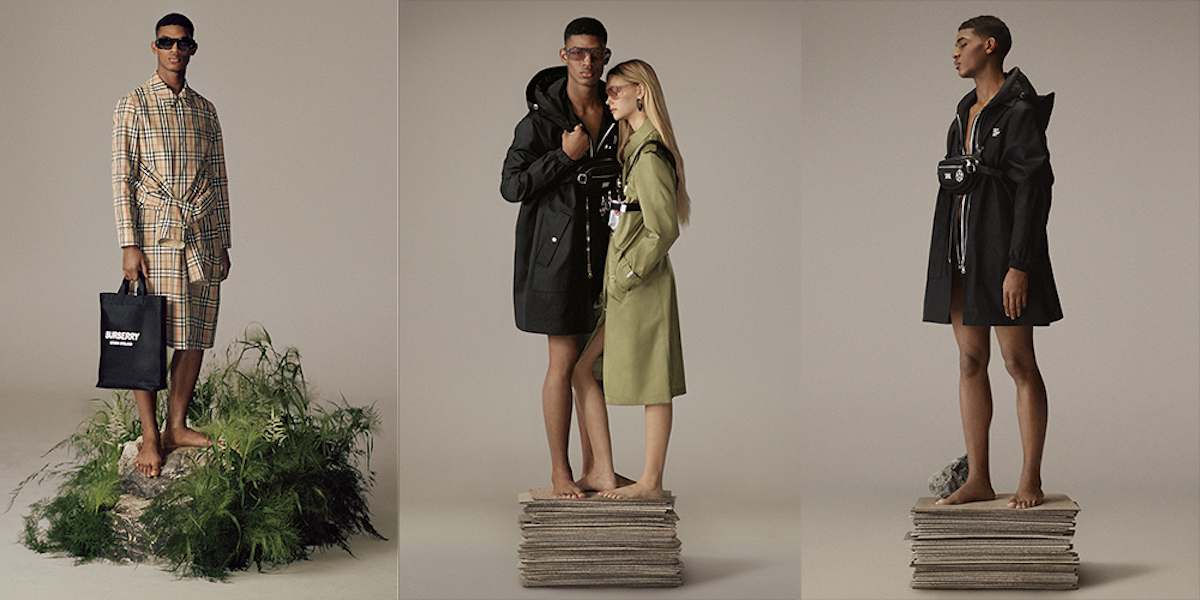 "Burberry Launch Sustainable ""ReBurberry"" Edit for Spring/Summer 2020"