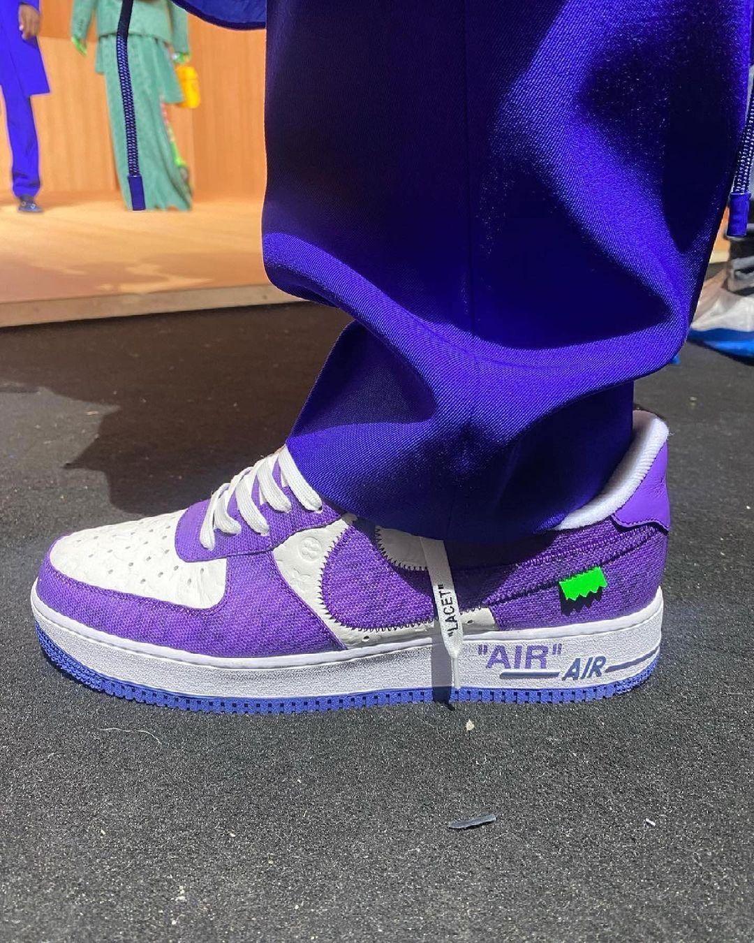 Louis Vuitton presenta le nuove Air Force 1 in collaborazione con Nike